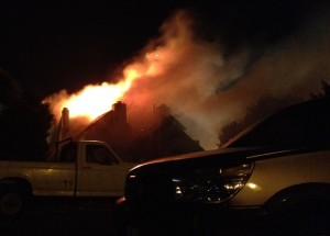 Huntington Ridge Apartment Fire
